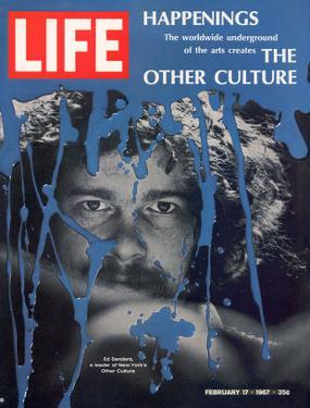 New York Counter Culture Leader Ed Sanders, February 17, 1967 by John Loengard