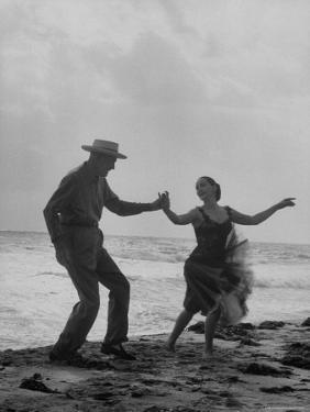 Rumba Danced by Director George Abbott and Dance Teacher Lilyan Martin by John Loengard