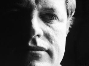 "Senator Edward ""Ted"" Kennedy After the Infamous Chappaquiddick Incident Involving Mary Jo Kopechne by John Loengard"