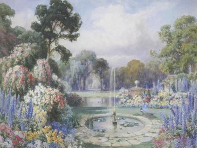 Romantic Garden by John Macpherson