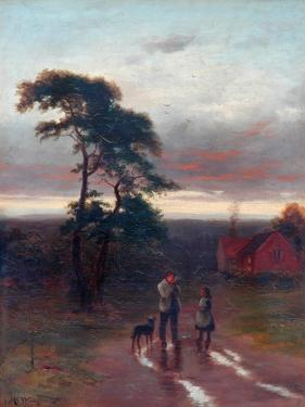 Evening by John MacWhirter