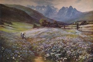 'June in the Austrian Tyrol', c1892 by John MacWhirter