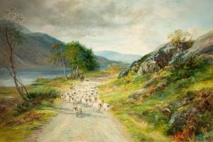 The Mountains of Moidart by John MacWhirter
