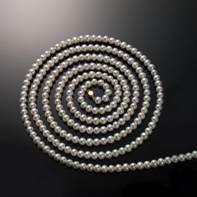 String of Pearls in a Coil