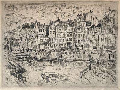Near the Pont St Michel, 1915