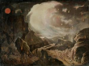 Biblical Destruction Scene by John Martin
