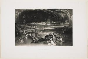 Fall of Babylon, 1826 by John Martin