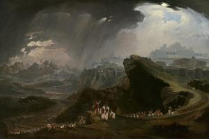Joshua Commanding the Sun to Stand Still Upon Gibeon, 1816 by John Martin