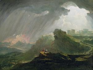 Joshua Commanding the Sun to Stand Still Upon Gibeon, c.1840 by John Martin