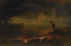 Le Pandemonium (Milton, Paradise Lost) by John Martin