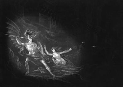 Satan and Sin by John Martin