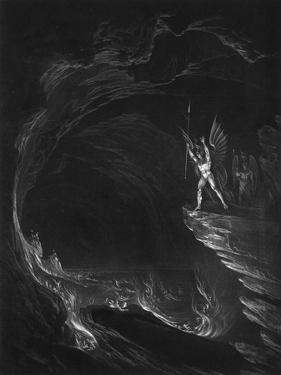 Satan in Hell by John Martin