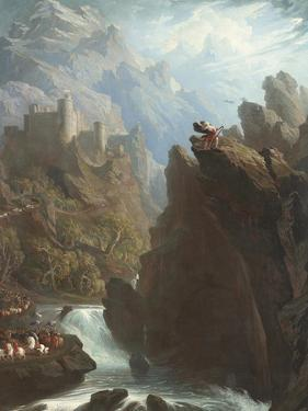 The Bard, C.1817 by John Martin