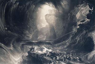 The Deluge, 1828 by John Martin