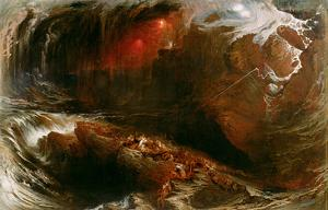 The Deluge, 1834 by John Martin