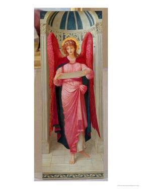 Angel by John Melhuish Strudwick