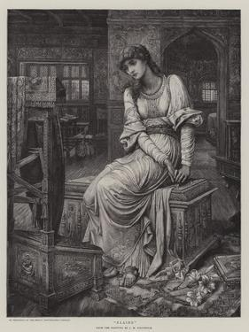 Elaine by John Melhuish Strudwick