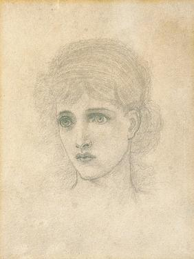 Head of a Woman by John Melhuish Strudwick