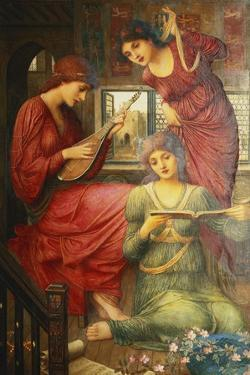 In the Golden Days by John Melhuish Strudwick