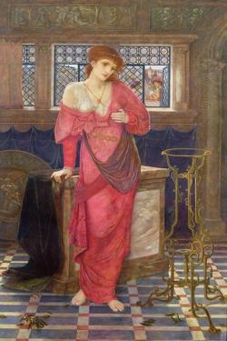 Isabella and the Pot of Basil by John Melhuish Strudwick