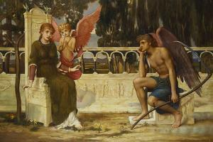 Love and Time by John Melhuish Strudwick