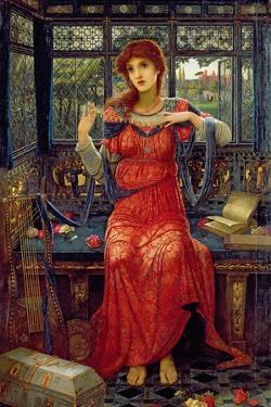 Oh, Swallow, Swallow, 1894 by John Melhuish Strudwick