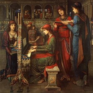 St. Cecilia, 1897 by John Melhuish Strudwick