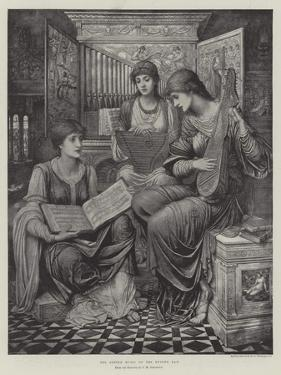 The Gentle Music of the Bygone Day by John Melhuish Strudwick