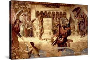 The Ramparts of God's House by John Melhuish Strudwick