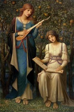 When Apples Were Golden and Songs Were Sweet But Summer Had Passed Away, C.1906 by John Melhuish Strudwick
