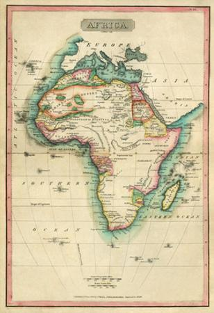 Africa, c.1820 by John Melish