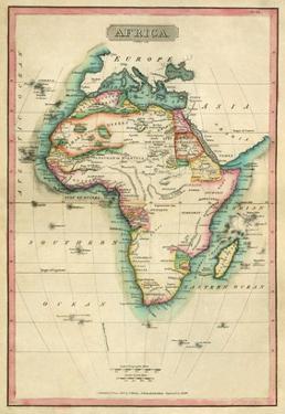 Africa, c.1820 by John Melish