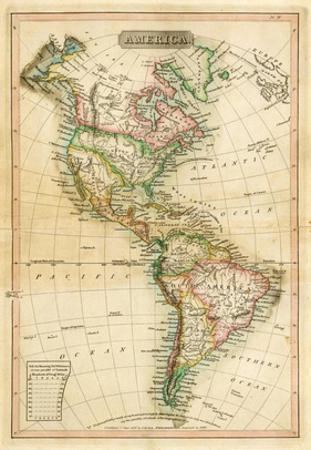 America, c.1820 by John Melish