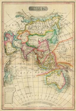 Asia, c.1820 by John Melish