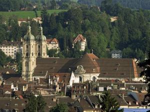Abbey, St. Gallen, Switzerland by John Miller