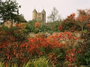 Autumn, Sissinghurst Castle, Kent, England, United Kingdom by John Miller