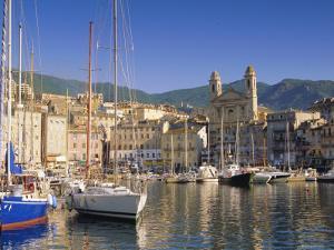 Bastia Harbour, Corsica, France, Europe by John Miller