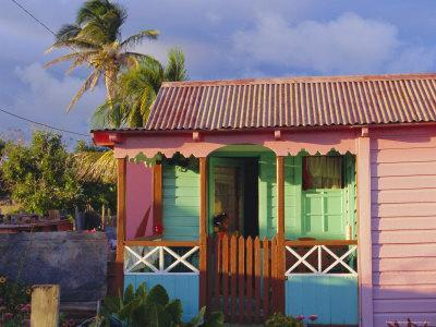 Chattel House, St. Kitts, Caribbean, West Indies