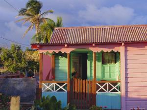 Chattel House, St. Kitts, Caribbean, West Indies by John Miller