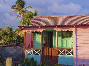 Chattel House, St. Kitts, Caribbean, West Indies by John Miller
