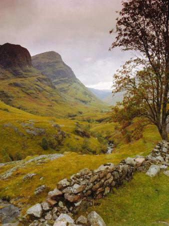 Glen Coe (Glencoe), Highlands Region, Scotland, UK, Europe