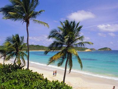 Half Moon Bay, Antigua, Caribbean, West Indies