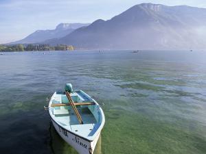 Lake Annecy, Rhone Alpes, France by John Miller