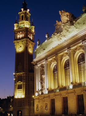 Opera and Chamber of Commerce, Lille, Nord, France, Europe by John Miller