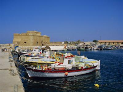Paphos Harbour, Cyprus, Europe by John Miller