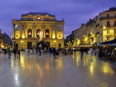 Place De La Comedie, Montpellier, Herault, Languedoc, France, Europe