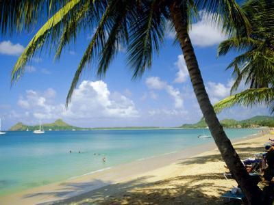 Reduit Beach, St. Lucia, West Indies