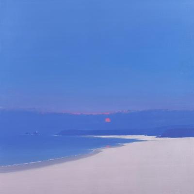 Sun Rising over the Bay, 1999 by John Miller