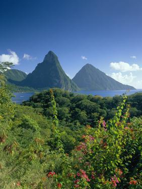 The Pitons, St.Lucia, Caribbean by John Miller