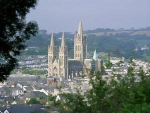 Truro Cathedral and City, Cornwall, England, United Kingdom by John Miller